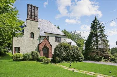 Scarsdale NY Single Family Home For Sale: $599,000