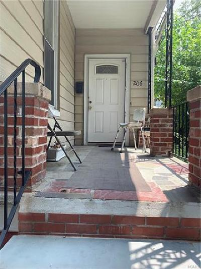 Yonkers Multi Family 2-4 For Sale: 206 Woodworth Avenue