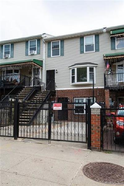 Bronx Multi Family 2-4 For Sale: 646 Saint Mary's Street