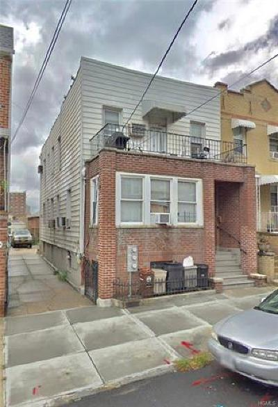 Bronx Multi Family 2-4 For Sale: 1963 Edison Avenue