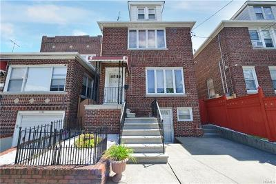 Bronx Single Family Home For Sale: 1628 Tomlinson Avenue