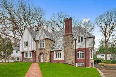 Scarsdale Single Family Home For Sale: 14 Butler Road