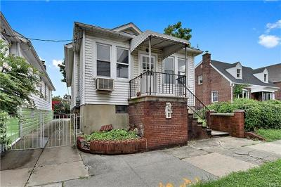 Bronx Single Family Home For Sale: 2942 Radcliff Avenue