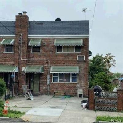 Bronx Multi Family 2-4 For Sale: 1014 East 213th Street