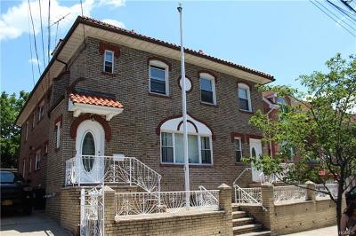 Bronx Multi Family 2-4 For Sale: 1634 Hering Avenue