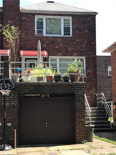 Bronx Multi Family 2-4 For Sale: 2078 Mayflower Avenue