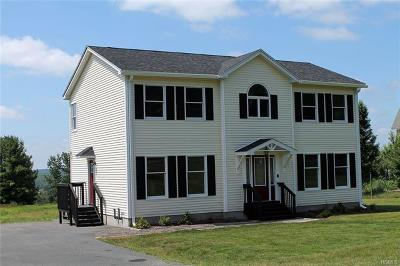 Callicoon Single Family Home For Sale: 803 County Route 164