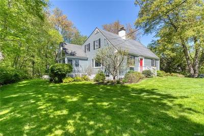 Chappaqua Single Family Home For Sale: 30 Barnes Lane