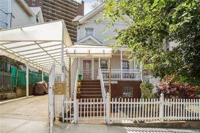 Bronx Multi Family 2-4 For Sale: 3430 Bailey Place
