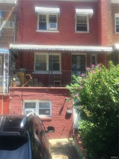 Bronx Single Family Home For Sale: 737 Penfield Street