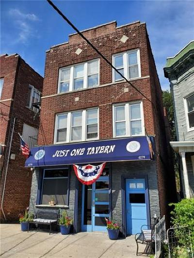 Bronx County Commercial For Sale: 4279 Katonah Avenue
