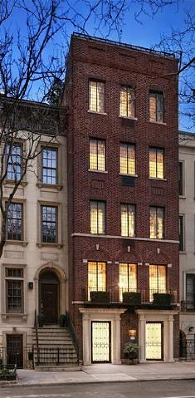 New York Single Family Home For Sale: 211 East 62nd Street