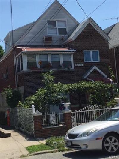 Bronx Single Family Home For Sale: 2320 Seymour Avenue