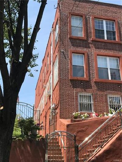 Bronx NY Multi Family 2-4 For Sale: $995,000
