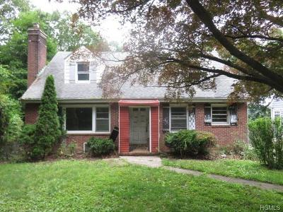 White Plains NY Single Family Home For Sale: $364,000