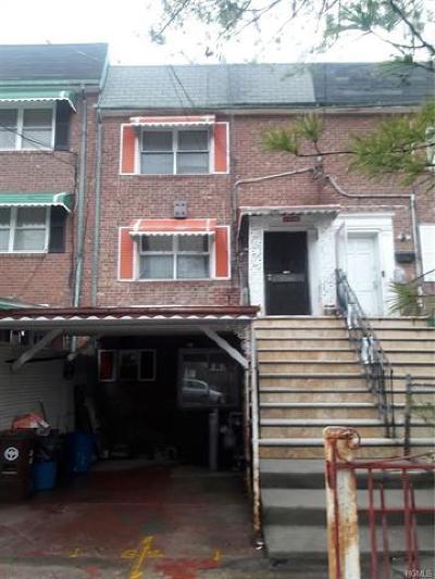 Bronx Multi Family 2-4 For Sale: 1793 Pitman Avenue #2