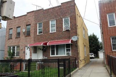 Bronx NY Multi Family 2-4 For Sale: $639,000