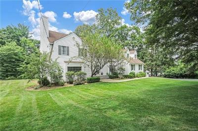 Chappaqua Single Family Home For Sale: 38 Ludlow Drive