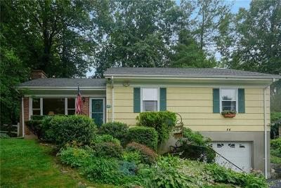 Pleasantville NY Single Family Home For Sale: $615,000