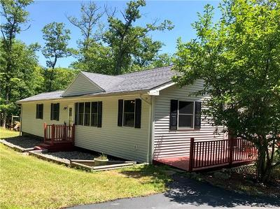 Pine Bush Single Family Home For Sale: 104 Vista Maria Road