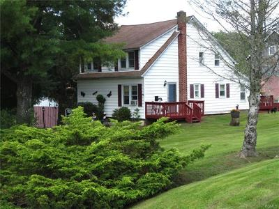Youngsville, Jeffersonville, Callicoon Single Family Home For Sale: 442 Hubert Road
