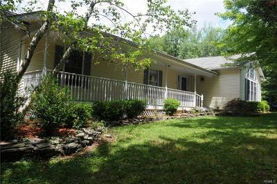 Single Family Home For Sale: 460 Mountain Road