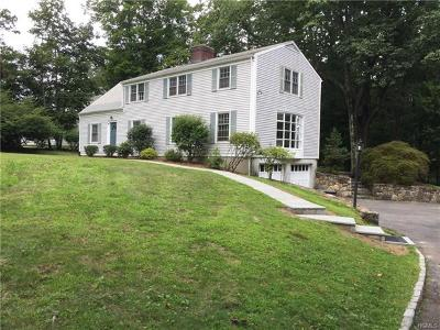 Chappaqua Single Family Home For Sale: 7 Seneca Drive