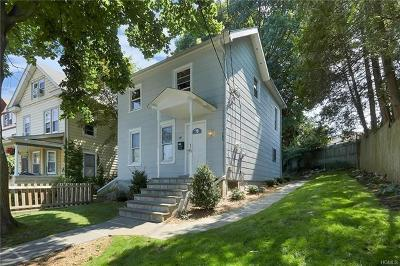 Ossining Single Family Home For Sale: 16 Dale Avenue