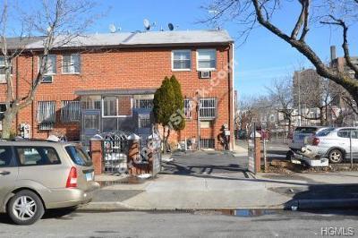 Bronx Residential Lots & Land For Sale: 2166-2160 Arthur Avenue