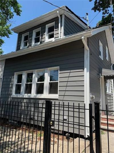 Bronx Single Family Home For Sale: 1807 Lacombe Avenue