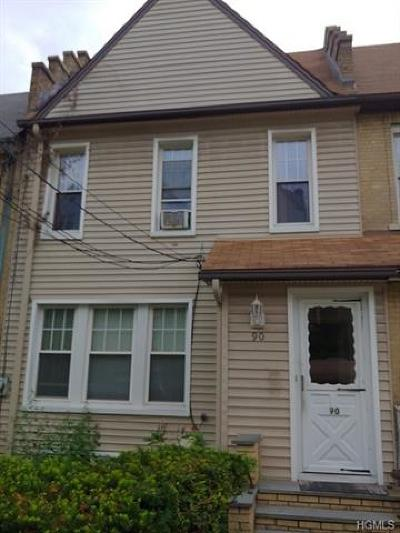 Yonkers Single Family Home For Sale: 90 Frederic Street