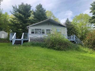 Wurtsboro NY Single Family Home For Sale: $106,500