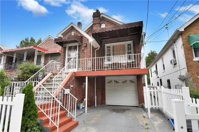 Bronx Single Family Home For Sale: 3172 Fenton Avenue