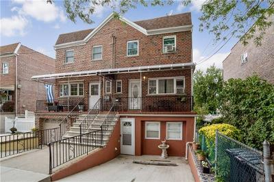 Bronx NY Single Family Home For Sale: $555,000