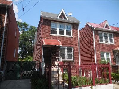 Bronx Single Family Home For Sale: 949 East 230th Street