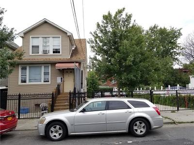 Bronx Multi Family 2-4 For Sale: 611 Saint Lawrence Avenue