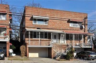 Yonkers Multi Family 2-4 For Sale: 314 McLean Avenue