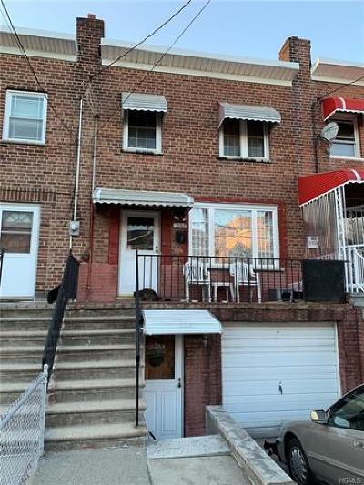 Bronx Single Family Home For Sale: 2707 Latting Street