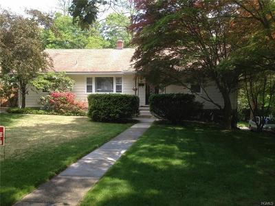 Croton-On-Hudson Single Family Home For Sale: 180 Grand Street