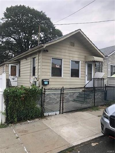 Bronx Single Family Home For Sale: 3247a Barkley Avenue