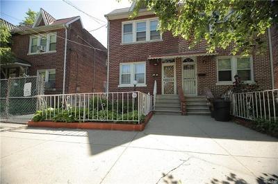 Bronx Single Family Home For Sale: 4137 Boyd Avenue