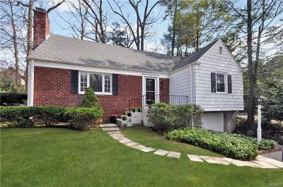 Scarsdale Single Family Home For Sale: 4 River Road