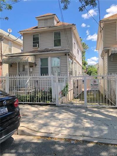 Bronx Single Family Home For Sale: 4152 Boyd Avenue