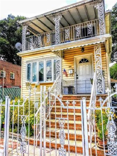 Bronx Single Family Home For Sale: 2555 Wilson Avenue