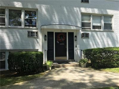 Westchester County Condo/Townhouse For Sale: 39 Avon Circle #C