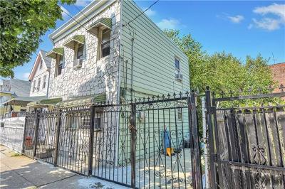 Bronx Single Family Home For Sale: 769 East 217th Street