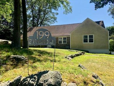 Westchester County Single Family Home For Sale: 199 Barnard Road