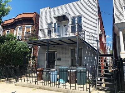 Bronx Multi Family 2-4 For Sale: 1718 Taylor Avenue