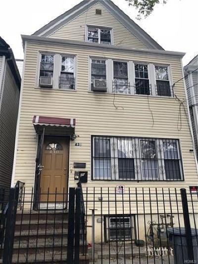 Bronx Multi Family 2-4 For Sale: 430 Bronx Park Avenue