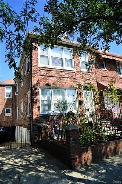 Bronx Multi Family 2-4 For Sale: 1123 Rhinelander Avenue